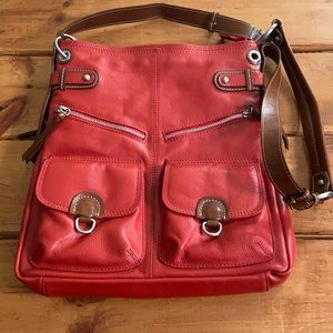 Nino BOSSI Red Crossbody Bag